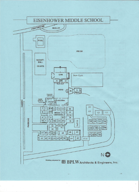 Map of EMS campus