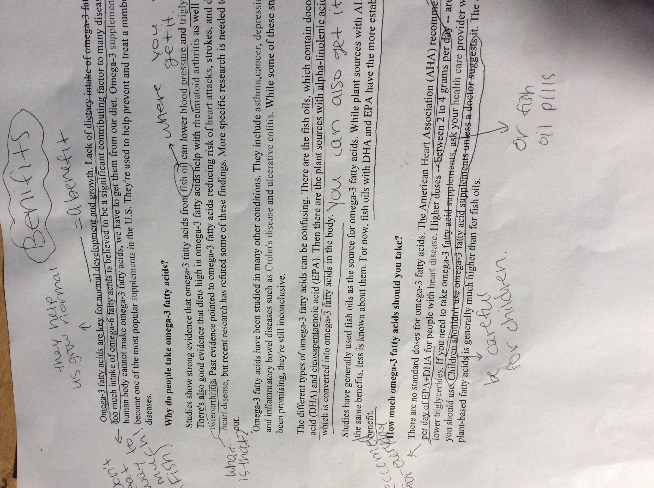 Example of Annotation