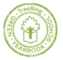 TreeRing Green Yearbook Logo