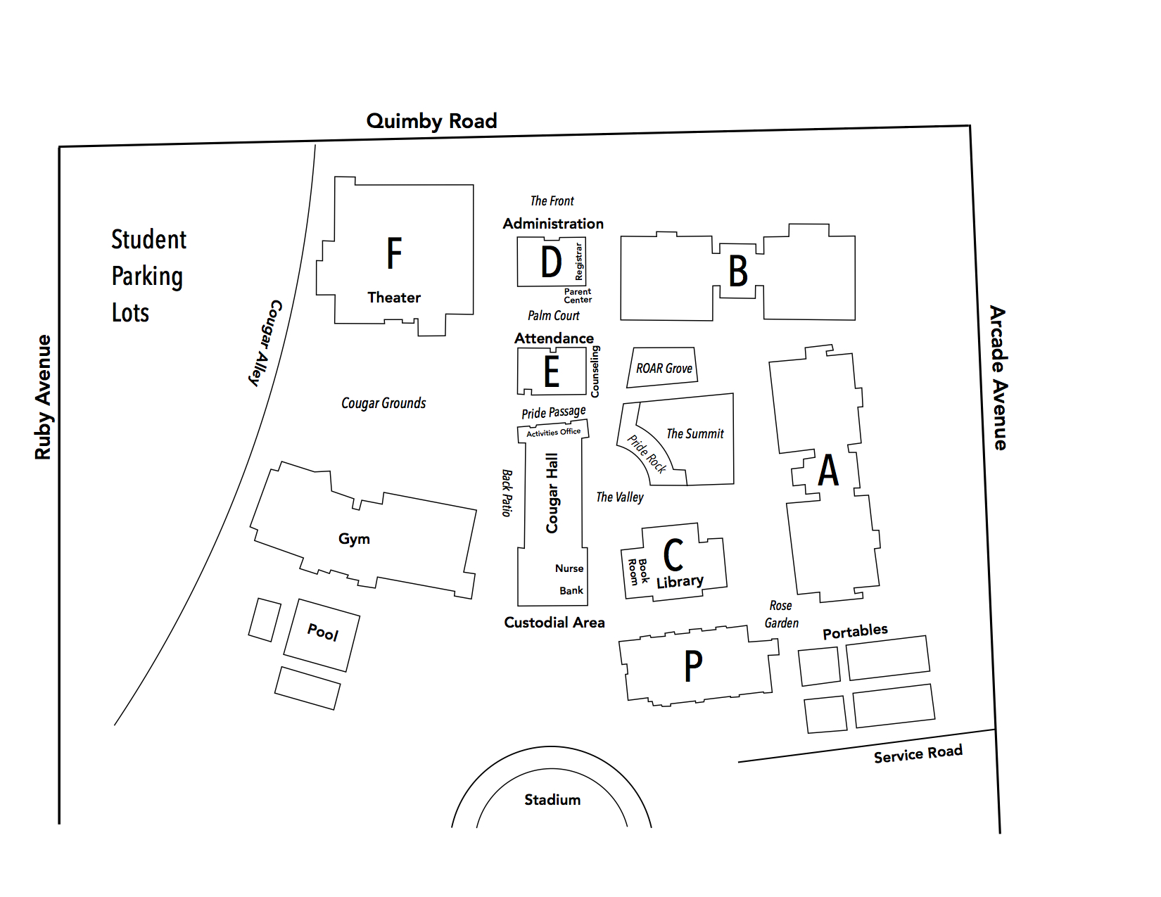 EVHS Map