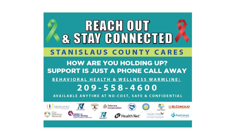 Stay Connected with Stanislaus County