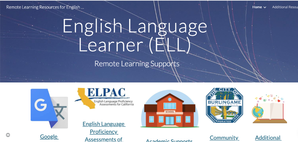 ELL Website