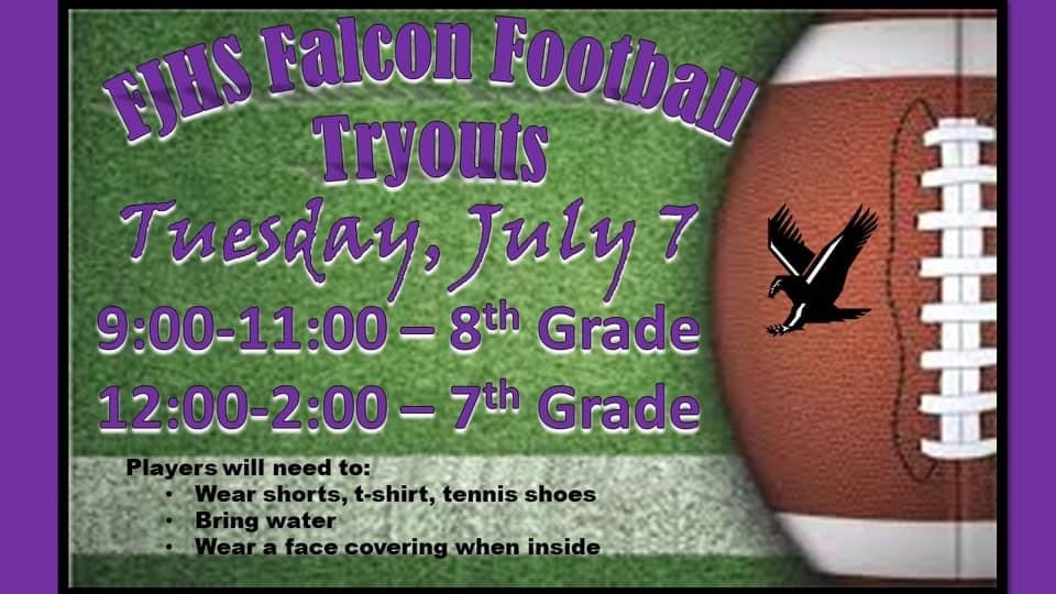 FJHS Football Tryouts