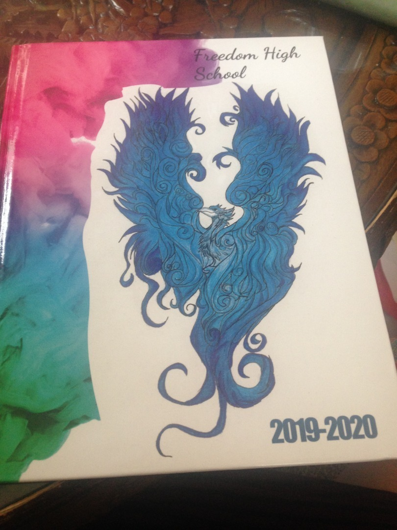 Yearbook Cover 2019-2020
