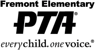 The Fremont Elementary PTA logo, featuring the text at the bottom,