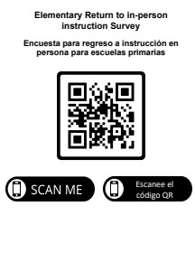 Scan here to access the parent survey
