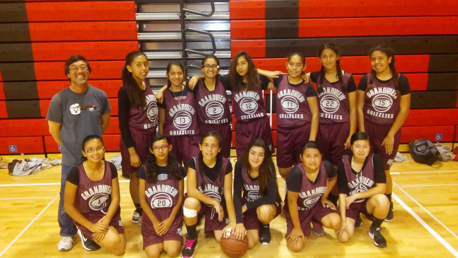 Girl's Basketball Team