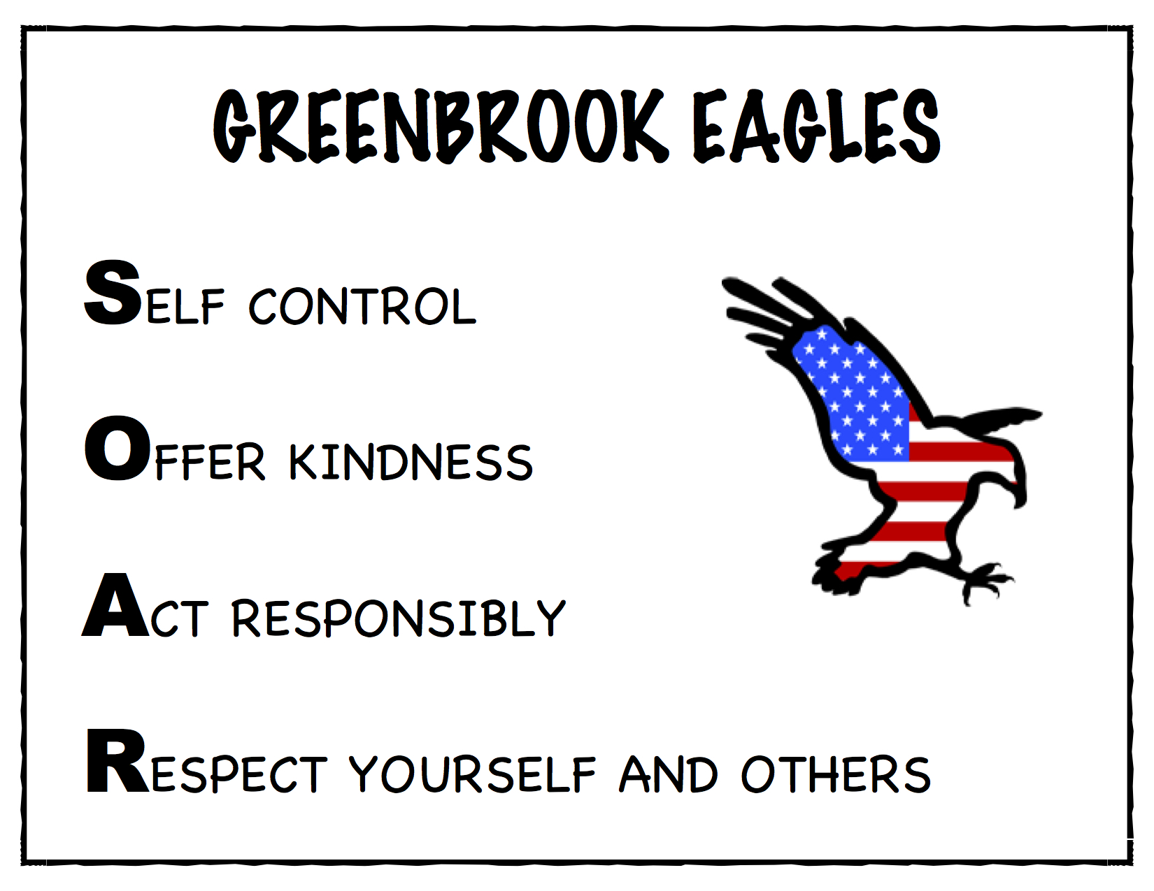 PBIS GREENBROOK EAGLES SOAR rev. 3