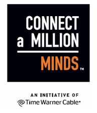 connect a million minds.logo