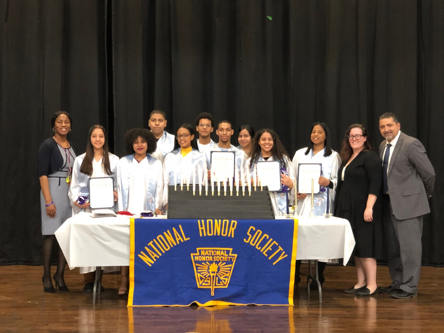 2019 National Honor Society inductees
