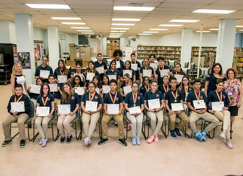 National Spanish Exam Honorees