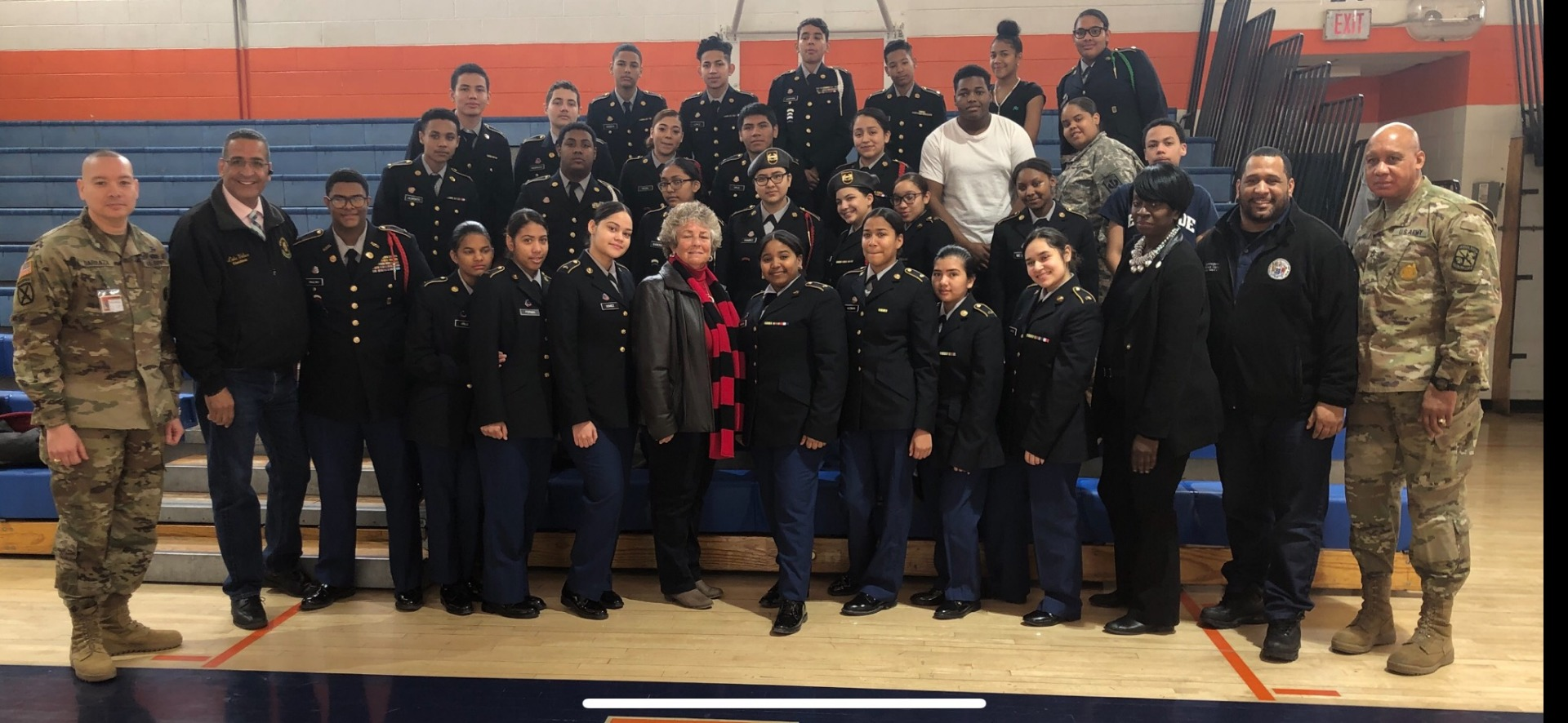 JROTC Saturday competion photo