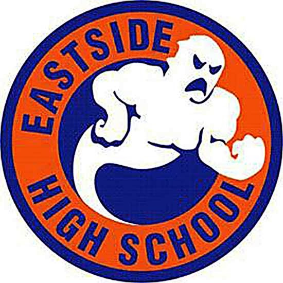 Eastside High School JROTC Fighting Ghost logo.