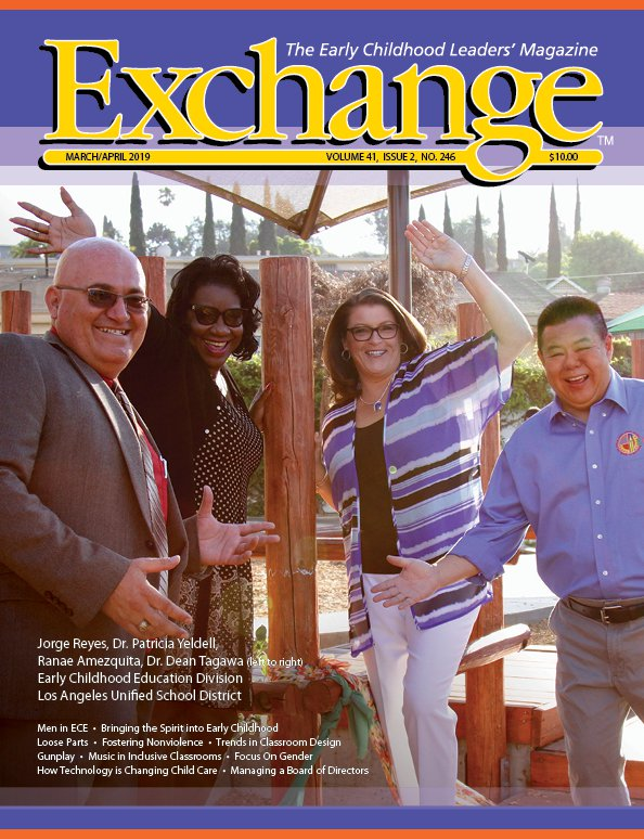 LAUSD Early Childhood Education Administrators on the cover of Exchange  Magazine!