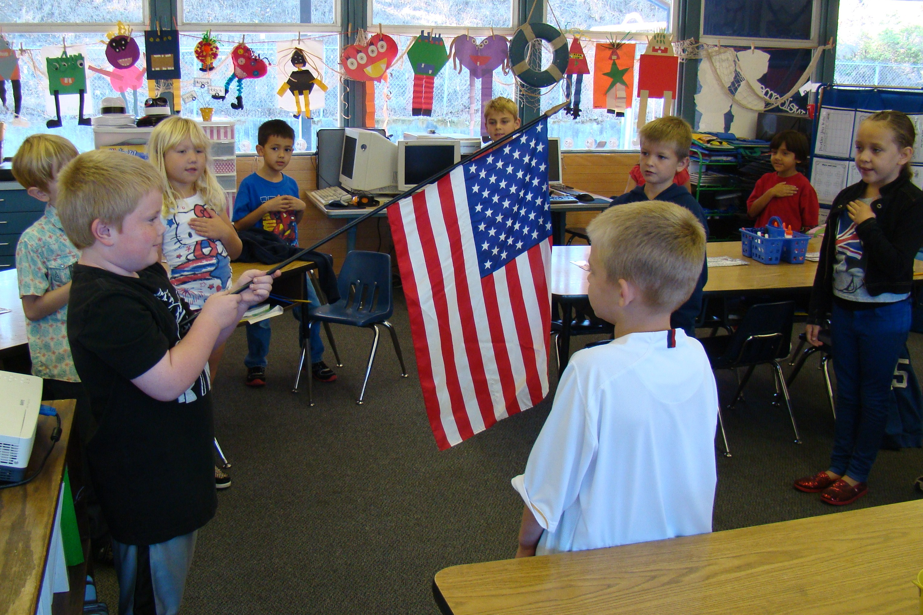 constitution day _Morning Pledge