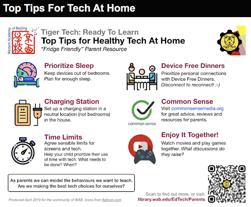 Tech tips for learning at home