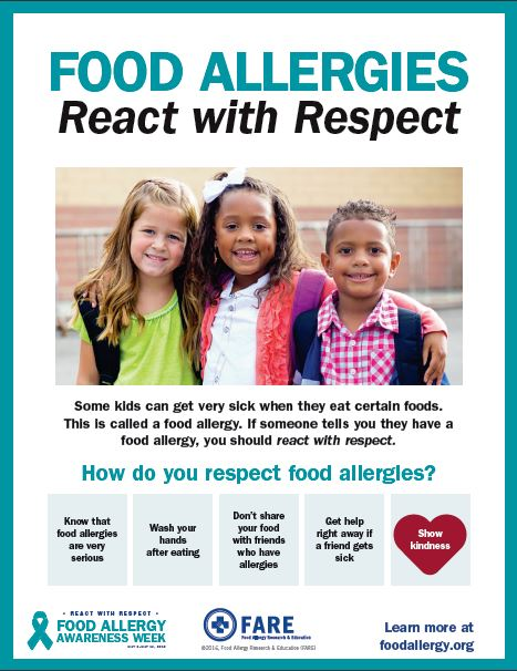 Food Allergy - React with Respect