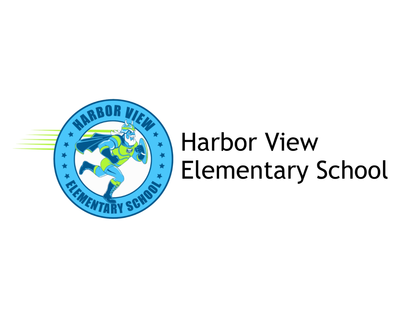 Harbor View Elementary School Logo