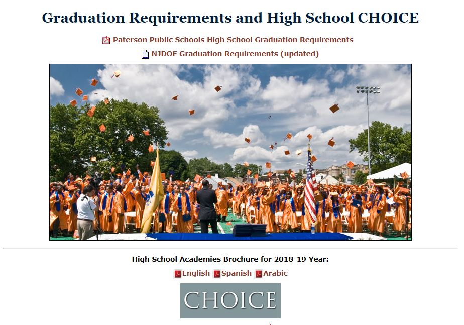 Image links to the PPS page that provides information about High School choice.