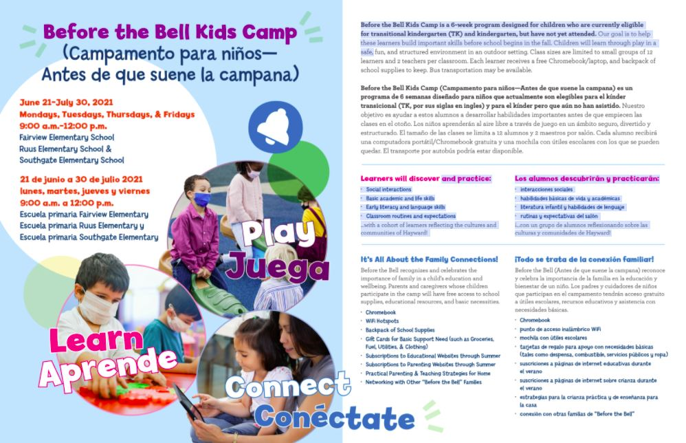 Before the Bell Brochure