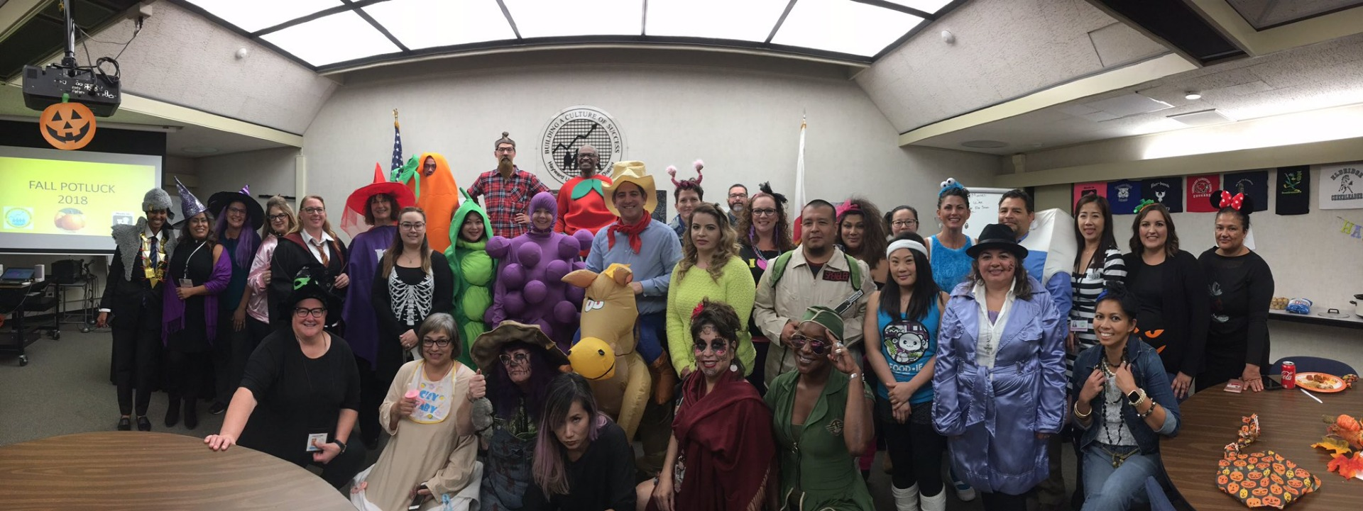 Halloween staff picture