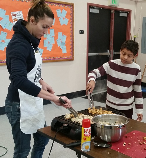 Multicultural Day Cooking
