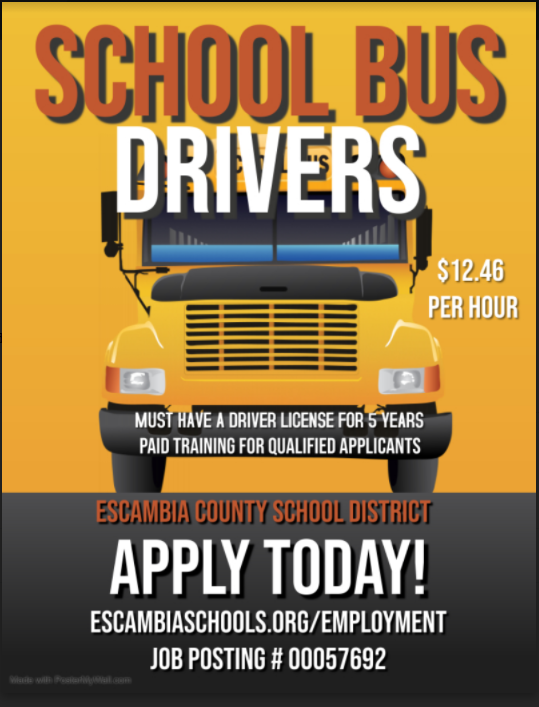 bus driver employment opportunity