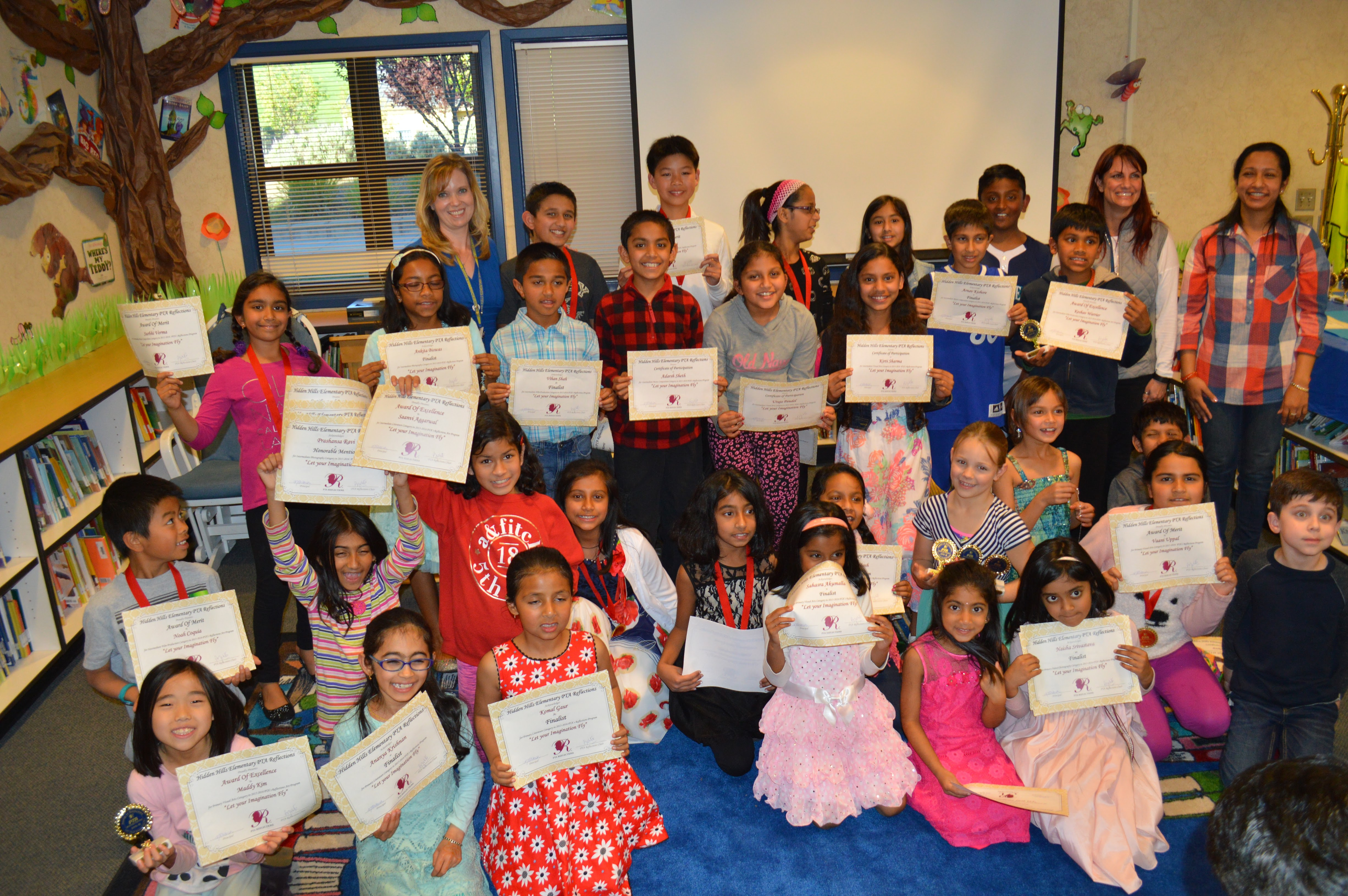 From 2015-2016 Reflections Art Showcase and Awards Ceremony..