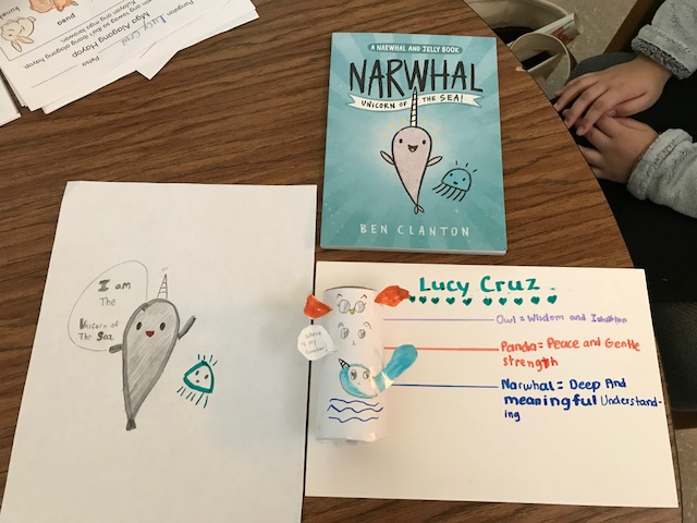 Lucy's Totem Pole & Narwhal Connection