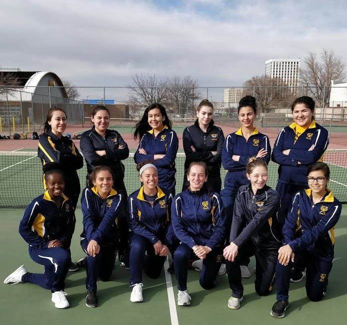 Girls Tennis team