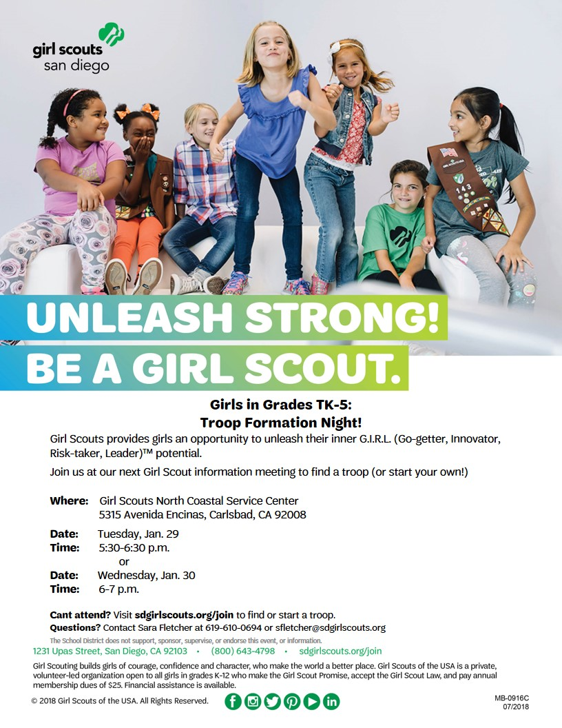 girl scouts sign ups