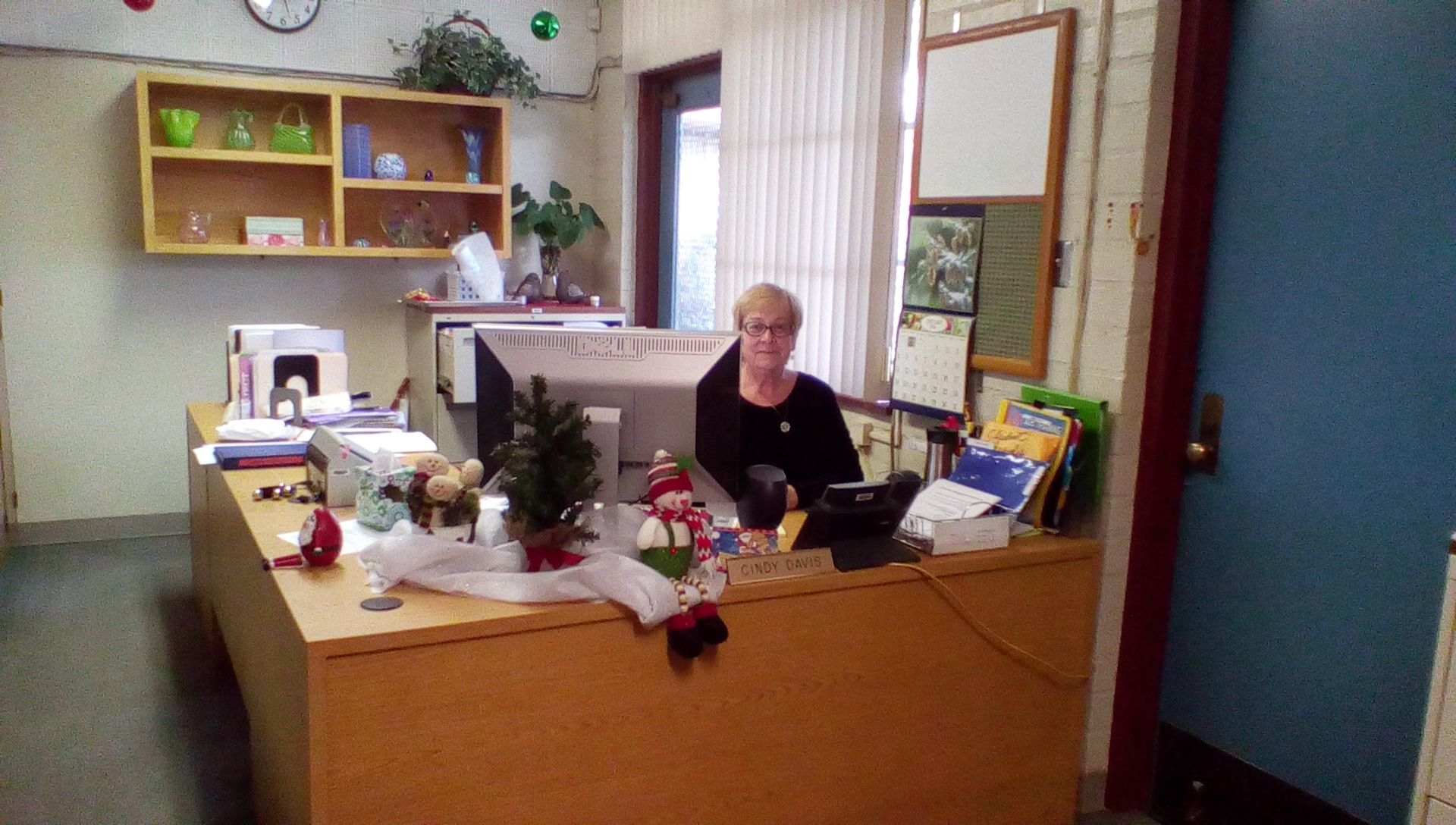 Cindy Davis, Office Manager
