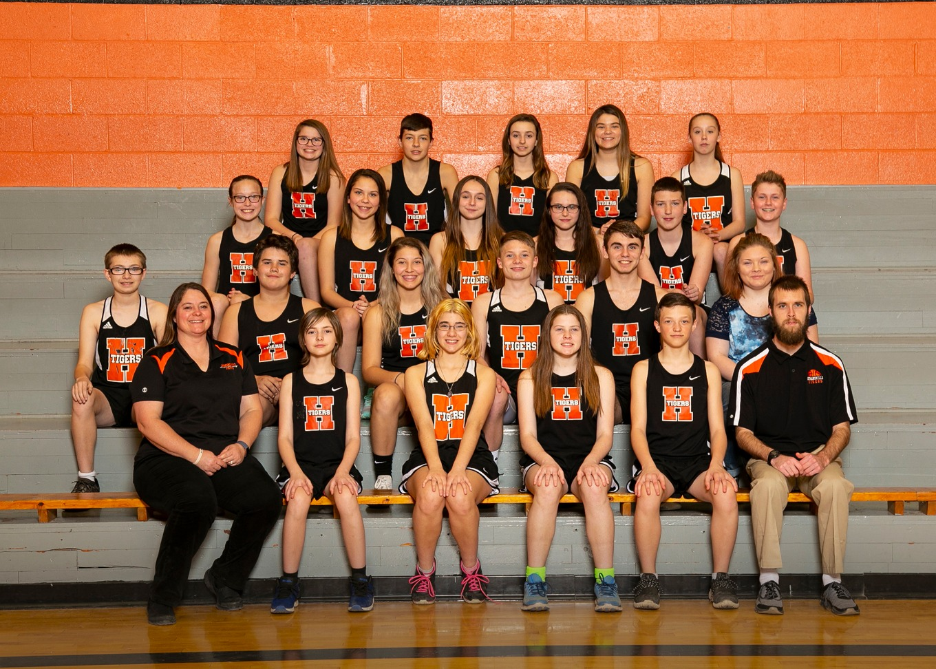2018 - 2019 Middle School Track Team