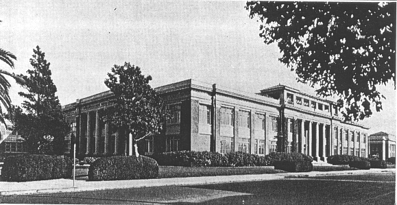 Huntington Park HS Building Before Fire
