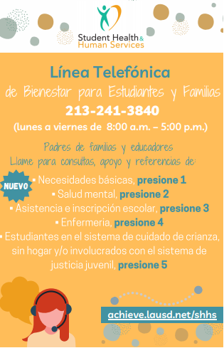 Hotline Spanish