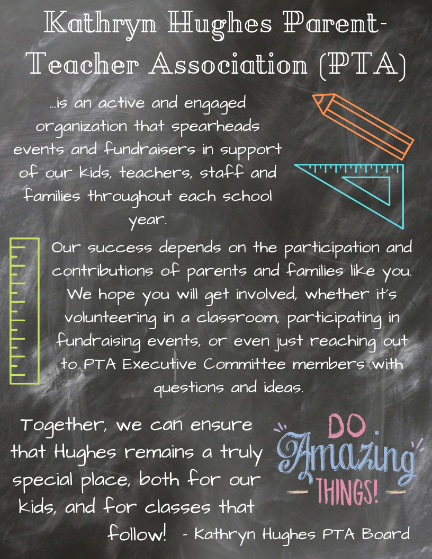 Kathryn Hughes PTA Welcome Message