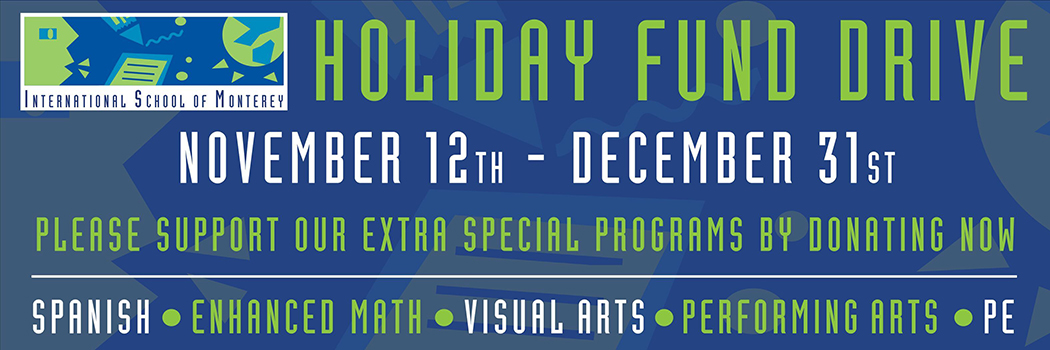 Holiday Fund Drive, 11/12-12/31