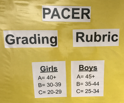 PACER Grading Rubric