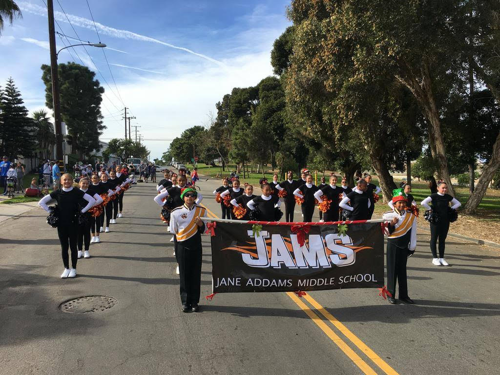 JAMS at parade