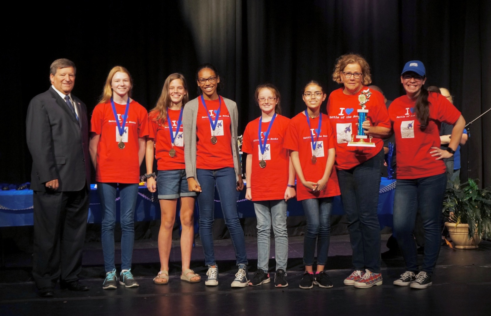 2019 Battle of the Books Winners