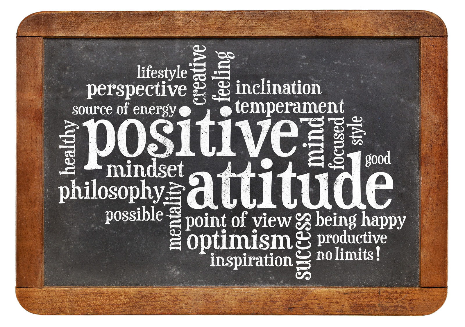 Positive Attitude - Word List