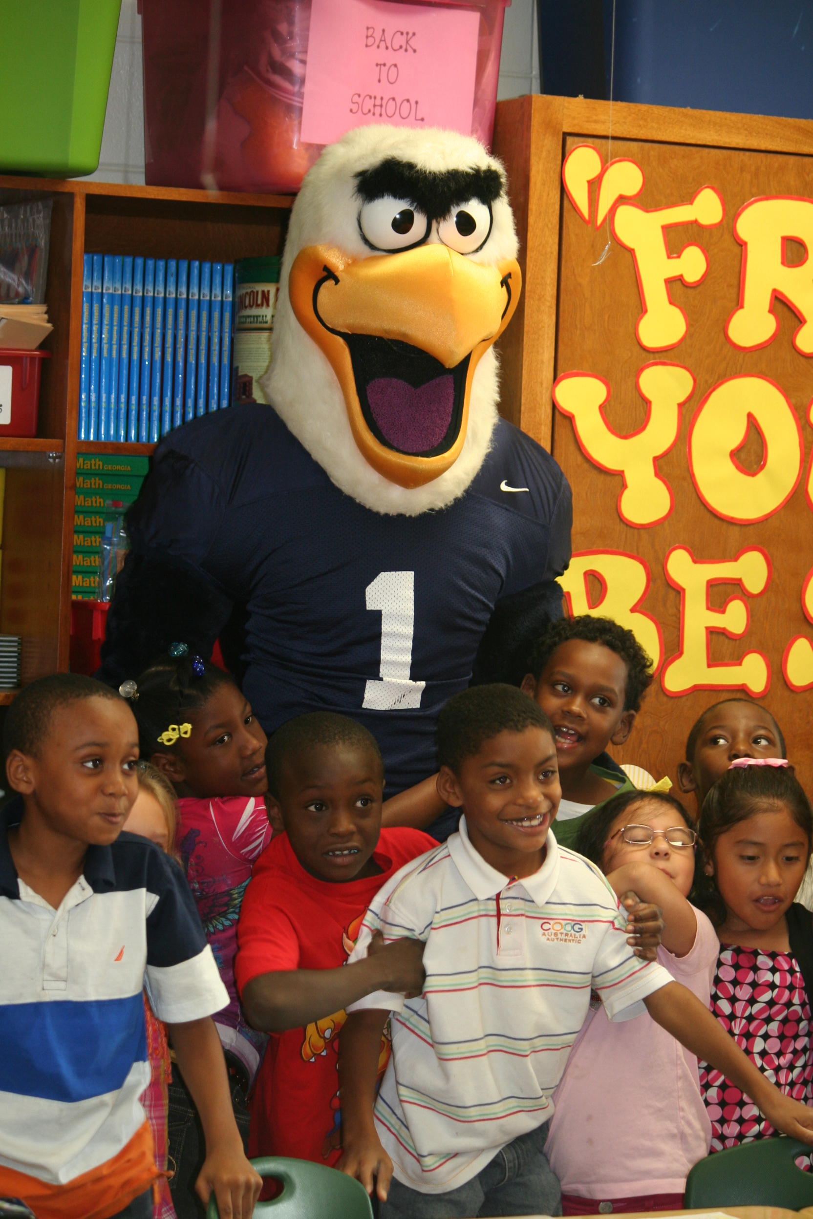 The Day Georgia Southern Eagles came to JPB