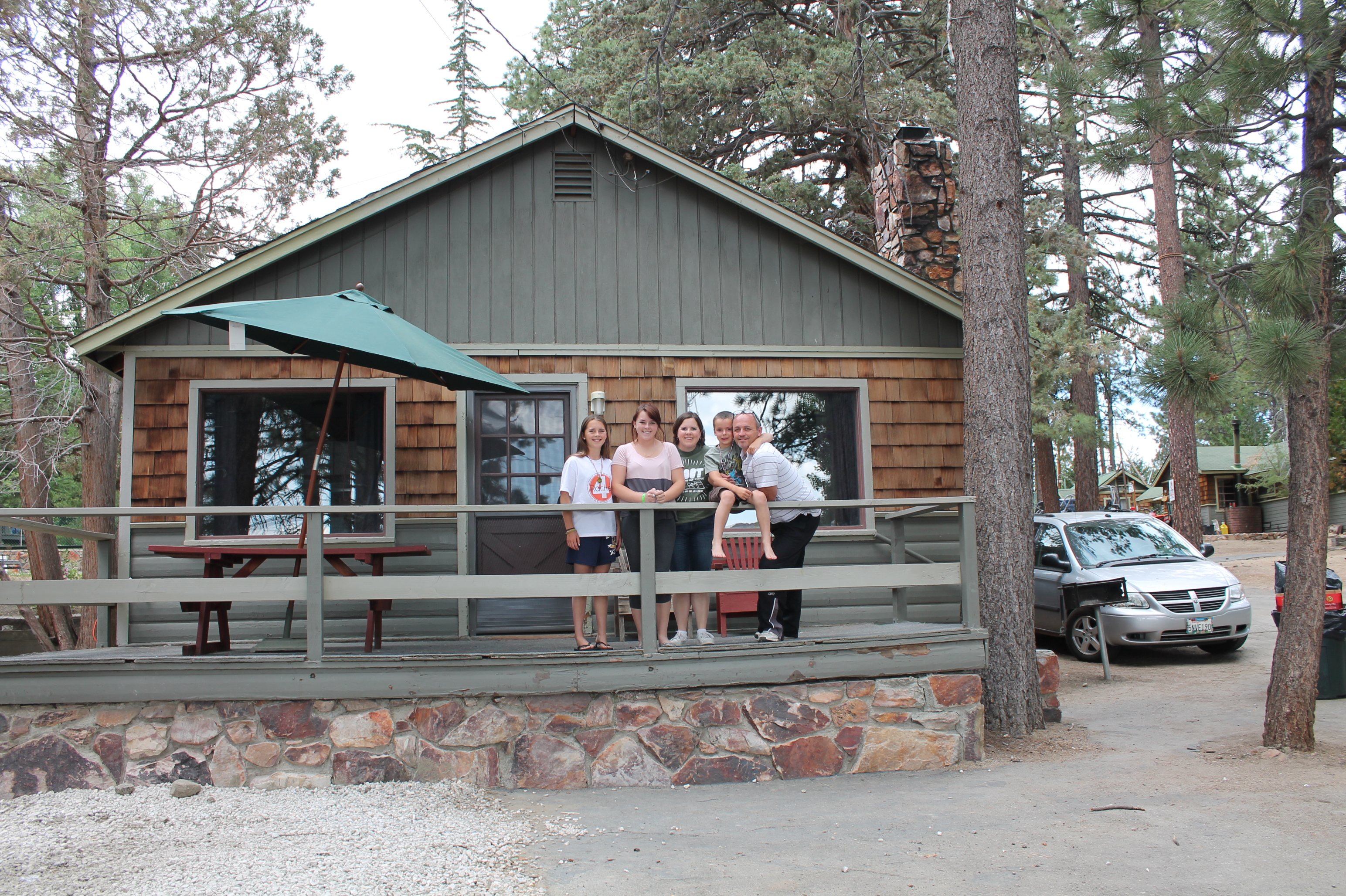 Summer Family Vacation in Big Bear