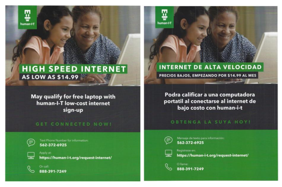 Low-Cost, High-Speed Internet
