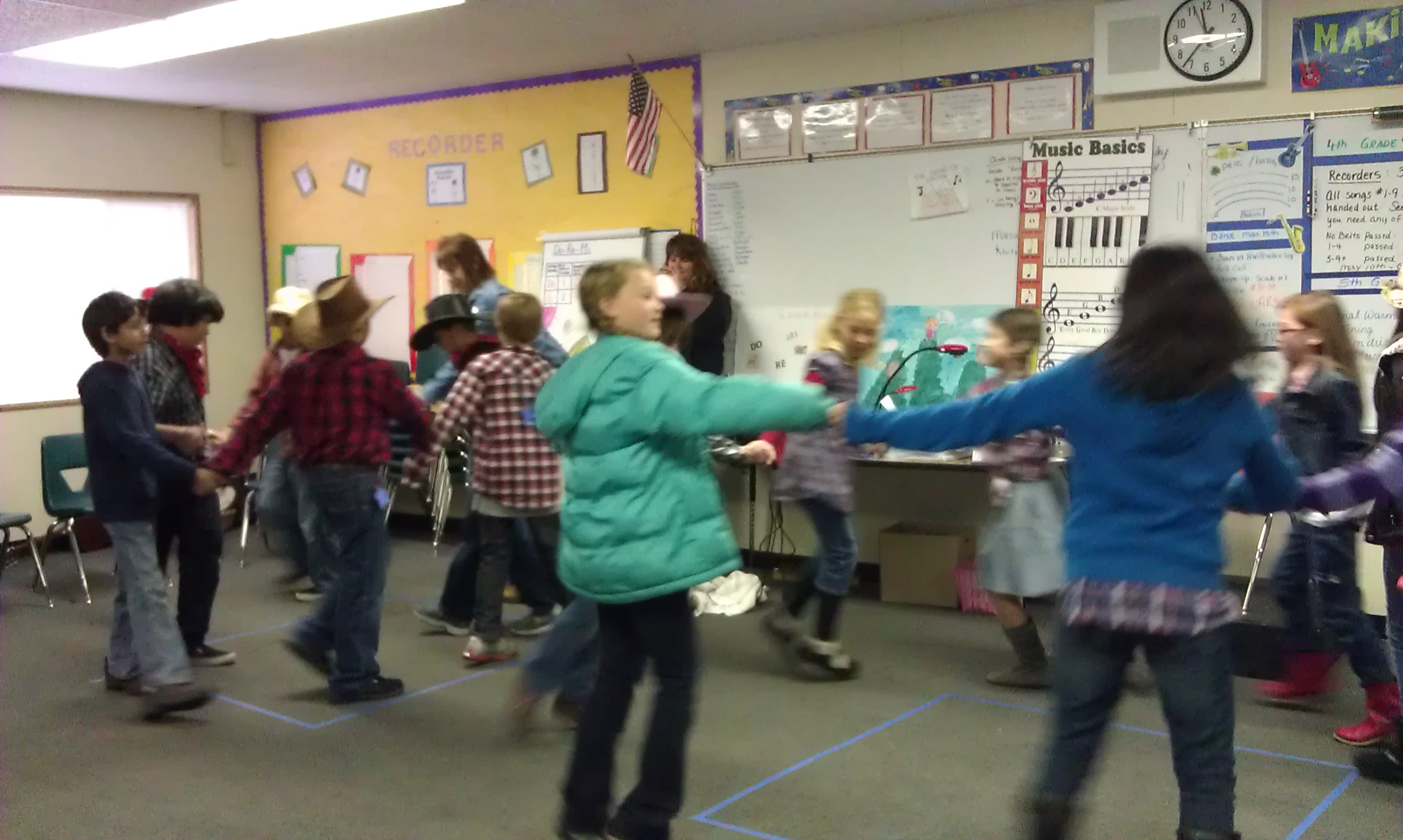 Gold Rush Days - 4th Grade Square Dancing :)