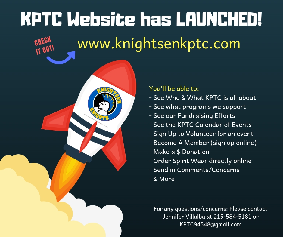 Website Launch Flyer