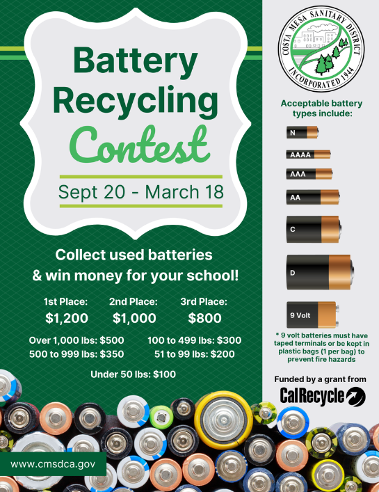Battery Recycling Flyer