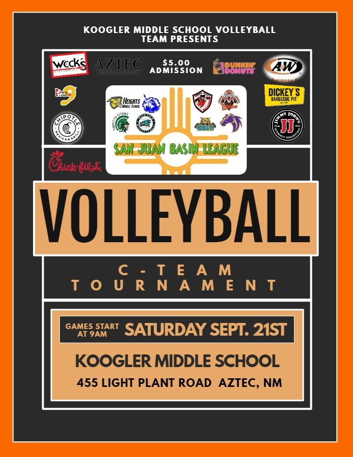 2019 San Juan Basin C-Team Volleyball Tournament