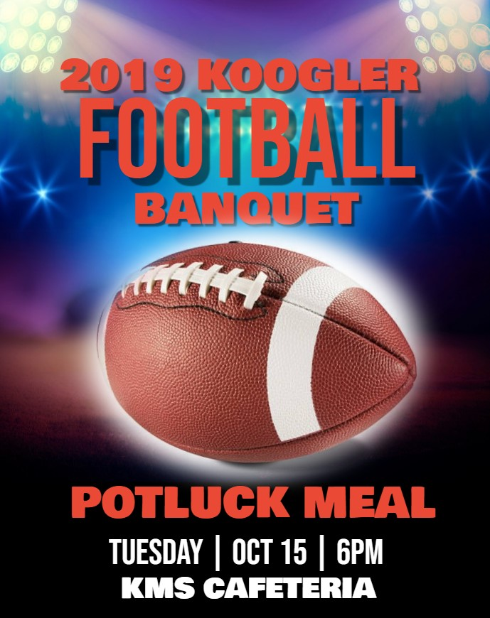 2019 KMS FOOTBALL BANQUET 10-15-19 6pm