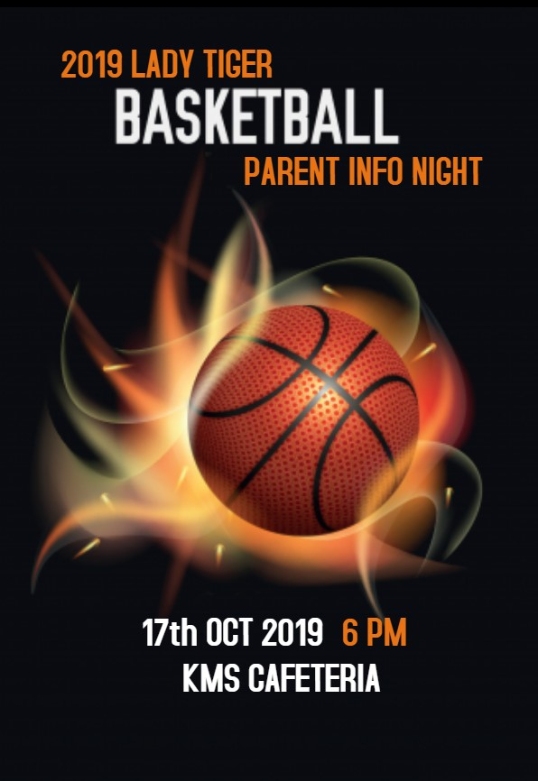 2019 LADY TIGER BASKETBALL PARENT INFO NIGHT
